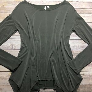 🎉3/$24! Cato M Olive Green Blouse
